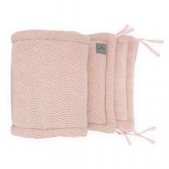 Jollein Bedomrander River Knit Pale Pink