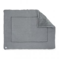Jollein Tapis de Parc 80 x 100 cm Basic Knit Stone Grey