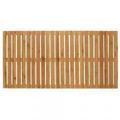 Wenko Tapis de Bain 100 x 50 cm Indoor & Outdoor Bamboo