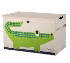 3 Sprouts Coffre à Jouets Crocodile
