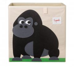 3 Sprouts Boîte de Rangement Gorilla