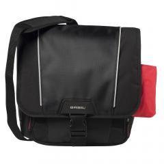 Basil Sacoche de Vélo Sport Design Commuter Bag 18 Litre Noir