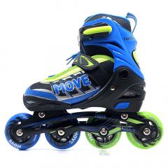 Move Rollers en Ligne Fast Boy Taille 30-33 Bleu - Vert