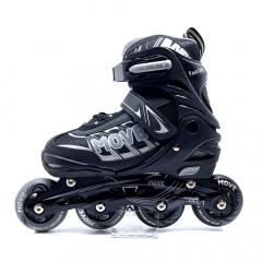 Move Rollers en Ligne Fast Uni Taille 30-33 Noir