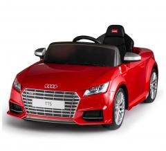 Audi Tts Roadster Voiture Électrique Pour Enfants 12V Rouge