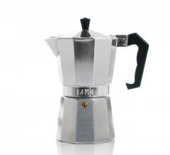 Bama Espresso Maker Doppio Zilver 12 Kops