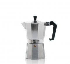 Bama Espresso Maker Doppio Zilver 6 Kops