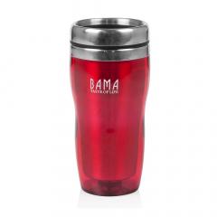 Bama Mug Isotherme Capri Rouge 450 ml