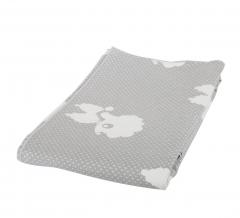 Baninni Couverture Lit Bébé Cino Gray - 110 Cm X 140 Cm