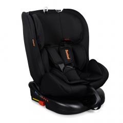 Baninni Autostoel Monza 360° Fix Zwart