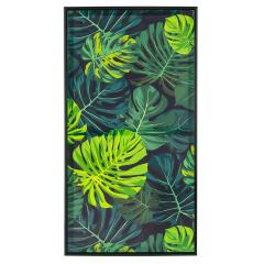 Baytex Canvas Poster Tropical Green 40 cm x 80 cm