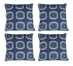 Baytex Sierkussen Crochet - BYT6191 Dark Blue - 4 Stuks