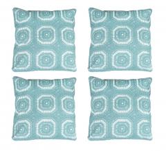 Baytex Sierkussen Crochet - BYT6191 Sea Green - 4 Stuks