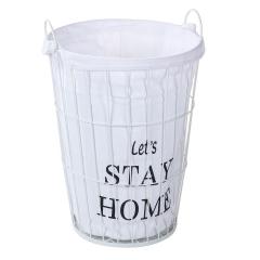 Baytex Panier À Linge Stay Home L - Blanc