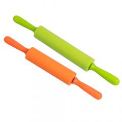 Baytex Rouleau À Pâtisserie Silicone Set - 2 Pack - Vert-Orange
