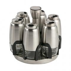 Baytex Présentoir À Épices Et Herbes Spice Bottle - 6 Pots À Épices