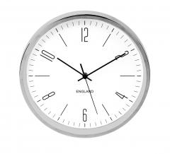Baytex Horloge Murale Bliss - Byt10069 Argent Ø 30 Cm
