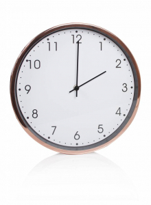 Baytex Horloge Murale Essentiel - Byt632 Rose Gold Ø 30 Cm