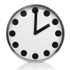 Baytex Horloge Murale Dots - Byt620 Argent Ø 40 Cm