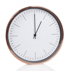 Baytex Horloge Murale Pure - Byt631 Rose Gold Ø 30 Cm