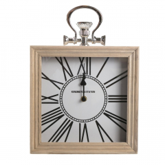 Baytex Horloge Murale Kensington 24 X 24 Cm Blanc