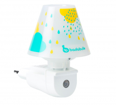 Badabulle Wand Nachtlampje Drops Blauw