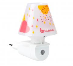Badabulle Wand Nachtlampje Drops Roze