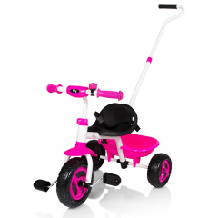 Billy Tricycle 1,5 - 4 Ans Berry Rose-Blanc