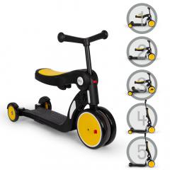 Billy 5en1 Scooter & Vélo Draisienne Évolutif pour Enfants Quince Jaune