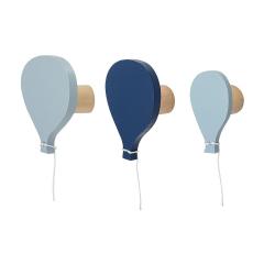 Bloomingville Kapstok Ballon Blauw - 3 Stuks