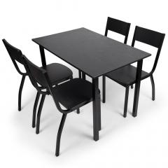 BAM-Meubel Eetkamerset 5-delig Destiny - Eettafel Met 4 Stoelen