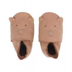 Bobux Chaussures Bébé Soft Soles Caramel Woof - Small