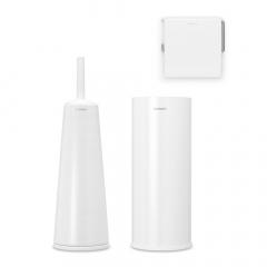 Brabantia Toiletaccessoires Set ReNew 3-delig Wit