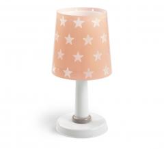 Dalber Lampe de Table Stars - Glow In The Dark Rose