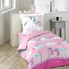 Housse de Couette Unicorn Magic 140 cm x 200 cm