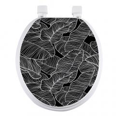 Wc-bril Black Leaves