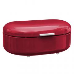 Eazy Living Boîte à Pain Ambre Rouge