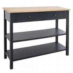 Eazy Living Table Console Ancelin Gris Foncé
