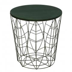 Eazy Living Table Gigogne Ø 39,5 Cm Leaf Vert