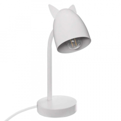 Eazy Living Lampe de Table avec Oreilles Sasha Blanc