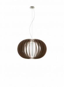 Eglo Hanglamp Stellato 1 Lichts 70 cm Bruin