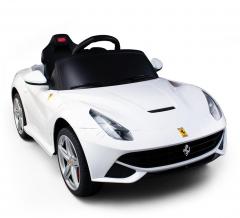 Ferrari F12 Berlinetta Voiture Électrique Pour Enfants 6 V Blanc