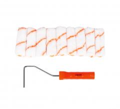 Finder Tools Verfroller Set Minirollers Losse Verfbeugel Met 9 Rollers 100 mm