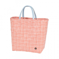 Handed By Shopper Joy Coral Red