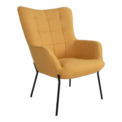 House Collection Fauteuil Helvi Geel
