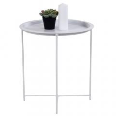 House Collection Table Gigogne  Ø 47 cm Bernt Blanc
