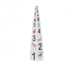 Kid'S Concept Blocs Edvin 10 Pièces Numbers & Figures