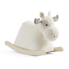 Kid'S Concept Animal À Bascule Moose Edvin Blanc