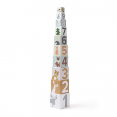 Kid'S Concept Blocs À Empiler En Carton 10 Blocs Edvin