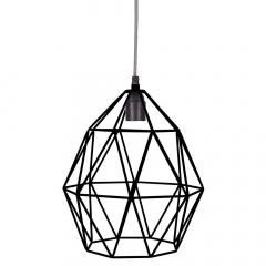 Kidsdepot Lampe Suspension Wire Noir